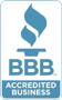 We're a Better Business Bureau member